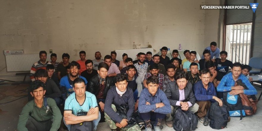 Van'da 40 kaçak şahıs yakalandı
