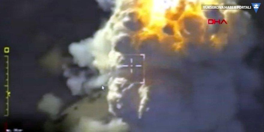 Rusya Savunma Bakanlığı, İdlib'e düzenlenen saldırının görüntülerini yayınladı