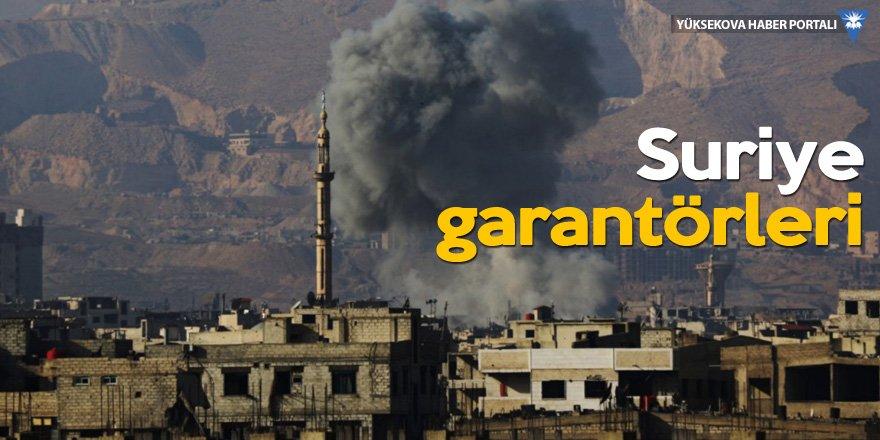 İdlib merkezli 'üçlü zirve' Tahran'da!