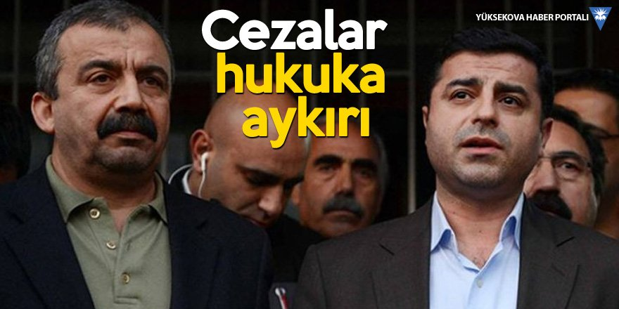 HDP'li Saruhan Oluç: Bu ceza hukuki değildir, siyasidir