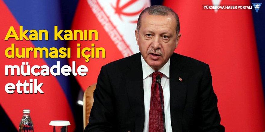 Cumhurbaşkanı Erdoğan'dan 5 dilde Suriye tweetleri