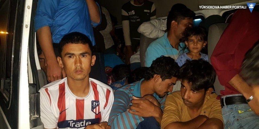 Van'da 82 kaçak göçmen yakalandı