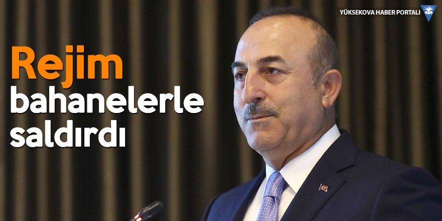 Bakan Çavuşoğlu: Çalışmalar Tahran'la sınırlı değil