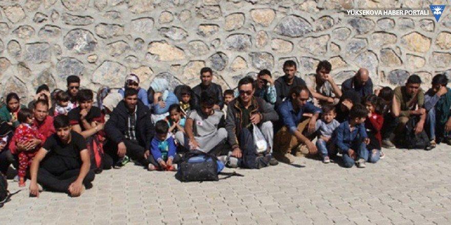 Başkale'de 41 kaçak göçmen yakalandı