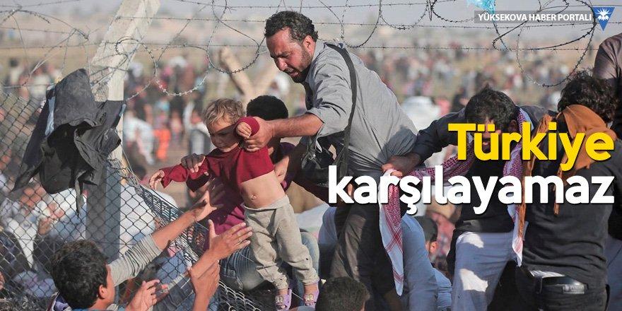 Bozkır: Sınır kapılarını mültecilere açmayacağız!