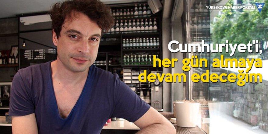 Özgür Mumcu, Cumhuriyet'e ara verdi