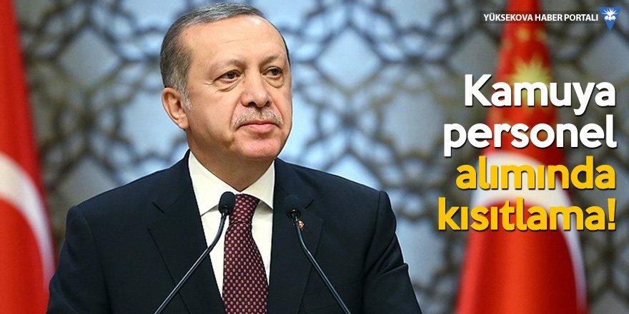 Erdoğan duyurdu, başlamamış bütün projeler askıya alındı