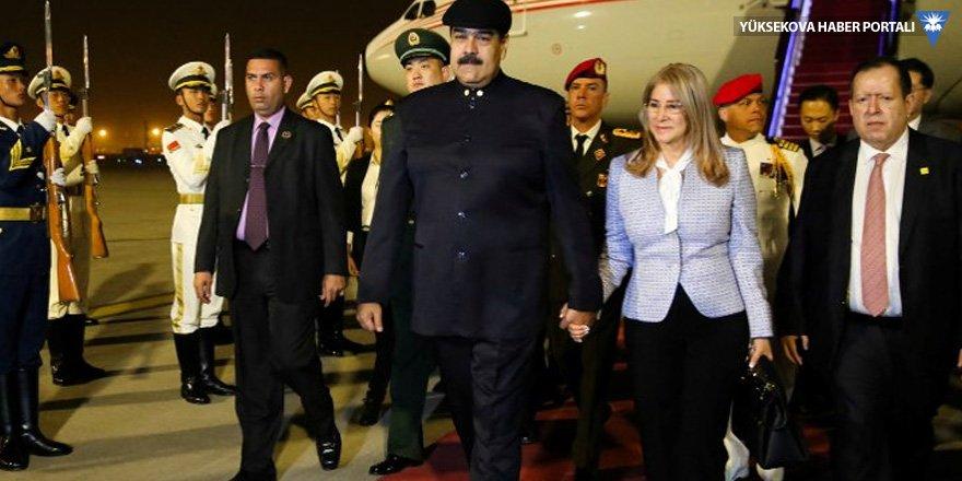 Maduro 'ablamız' dediği Çin'de