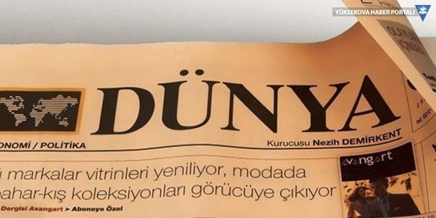 Dünya gazetesinde 30 kişi işten çıkarıldı