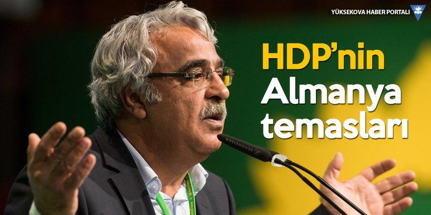 HDP'li Sancar: Almanya'nın Erdoğan'ın kurtarıcı olmasına karşıyız
