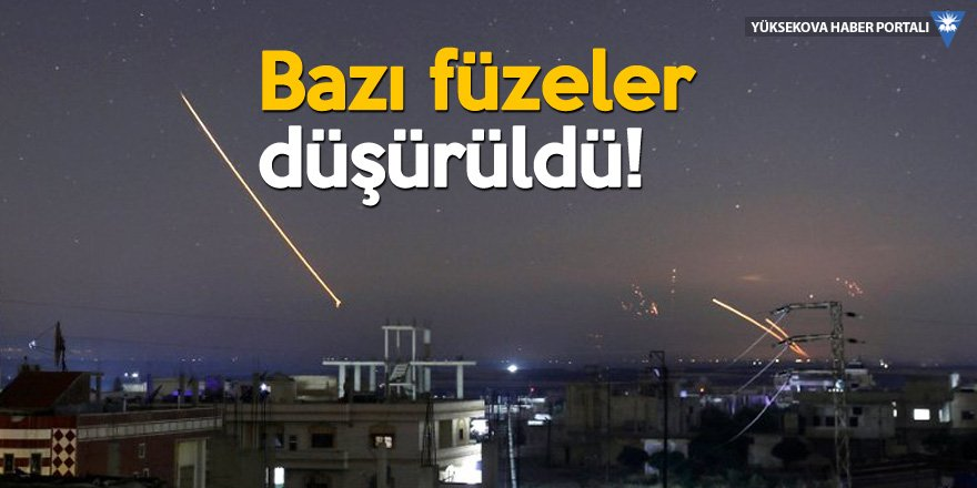 SANA: İsrail'e ait füze saldırısı püskürtüldü