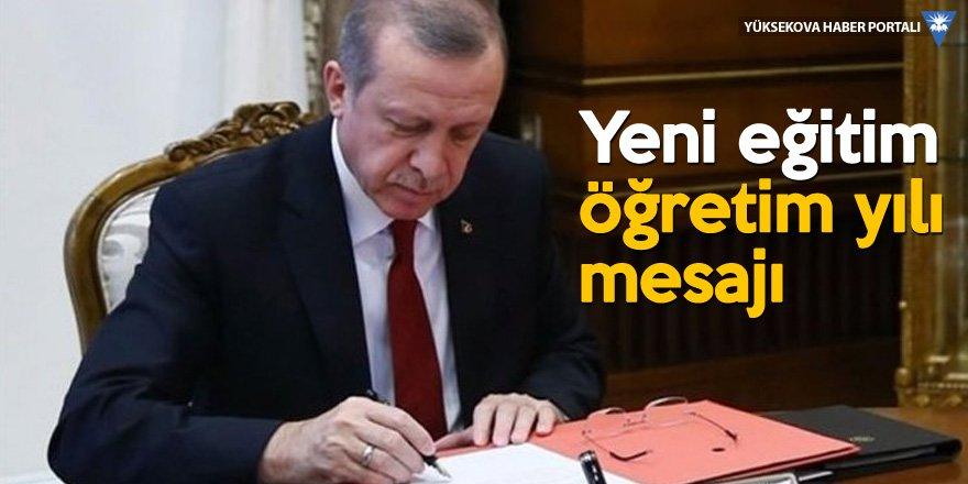 Erdoğan: Eğitimde tarihi nitelikte değişimlere hazırlanıyoruz