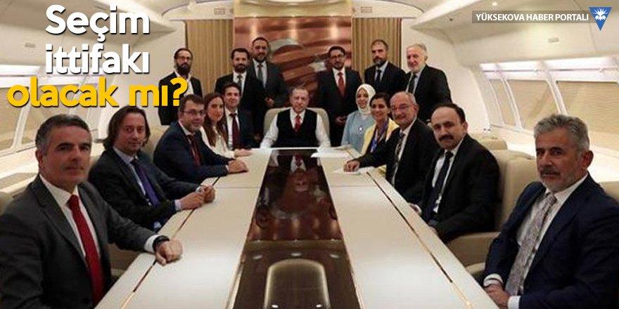 Erdoğan: Katar uçağı bize hibe ettiler