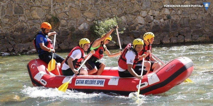 Van Çatak'taki rafting Türkiye şampiyonası sona erdi