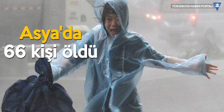 Mangkhut Tayfunu: Asya'da 66 kişi öldü, 2,5 milyon kişi tahliye edildi