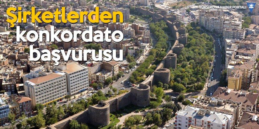 Diyarbakır'da 50'dan fazla şirket konkordato istedi