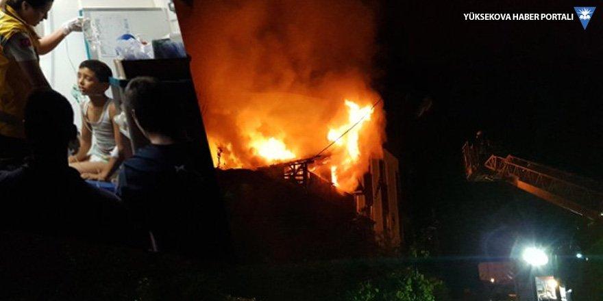 Kocaeli'deki yangında iki çocuk öldü