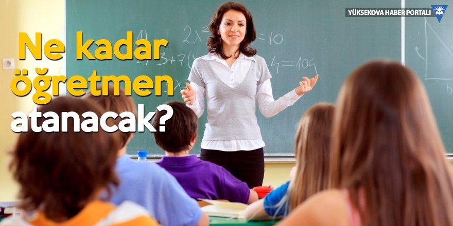 Bakan Selçuk: 117 bin 403 öğretmene ihtiyaç var