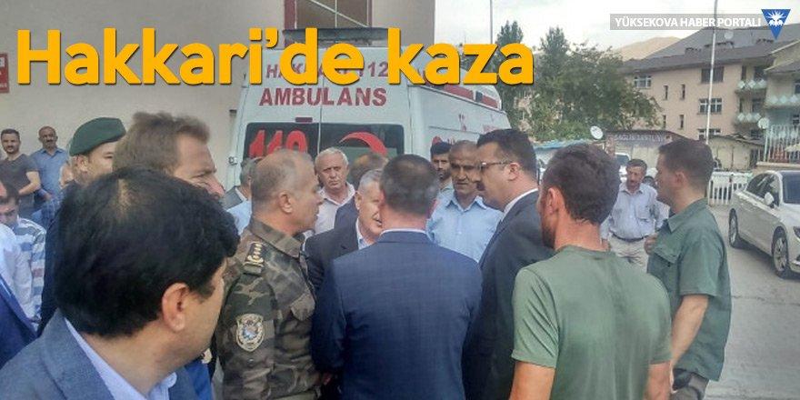 Hakkari'de kaza: Baro Başkanı Kaya'nın ağabeyi kazada hayatını kaybetti