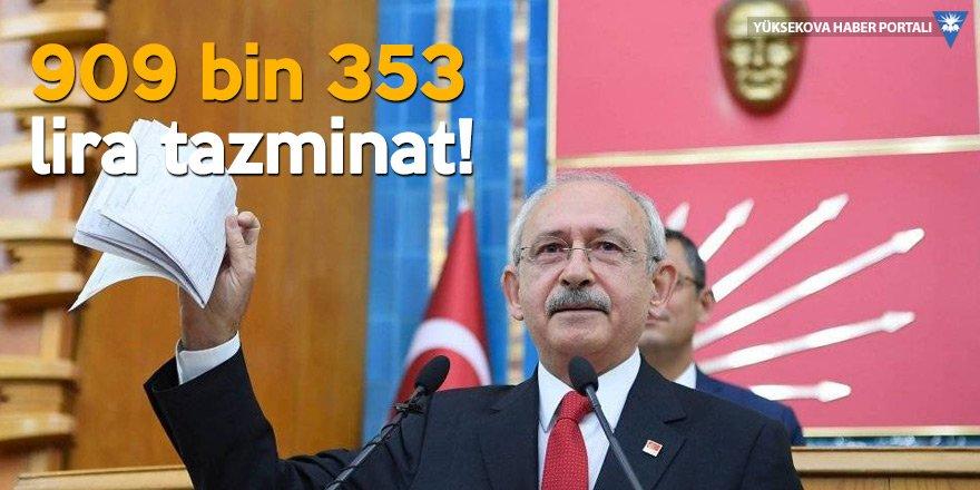 Kılıçdaroğlu, Erdoğan'a ödeyeceği Man Belgeleri tazminat bedelini icraya yatırdı