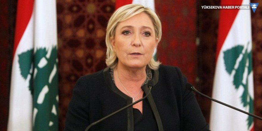 IŞİD paylaşımı yapan Le Pen'e akıl sağlığı testi!