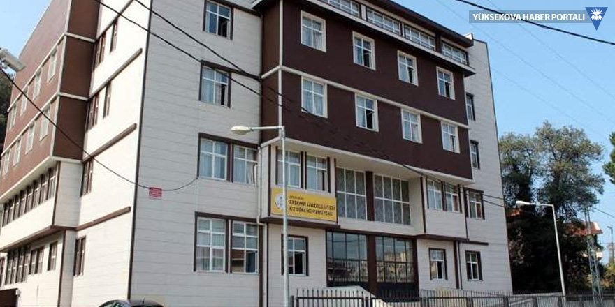 'Müdür yatılı okula kral dairesi yaptırdı' iddiası