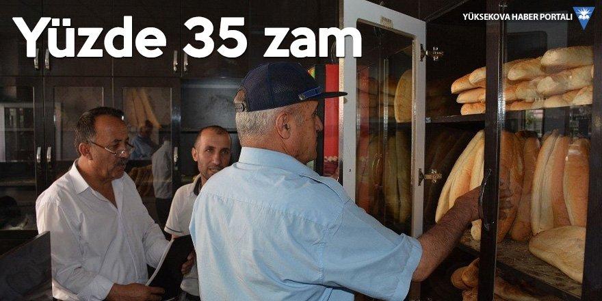 Hakkari'de ekmek 1.50 TL oldu