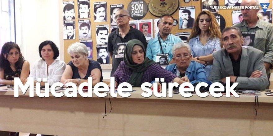 Cumartesi Anneleri'nden basın toplantısı