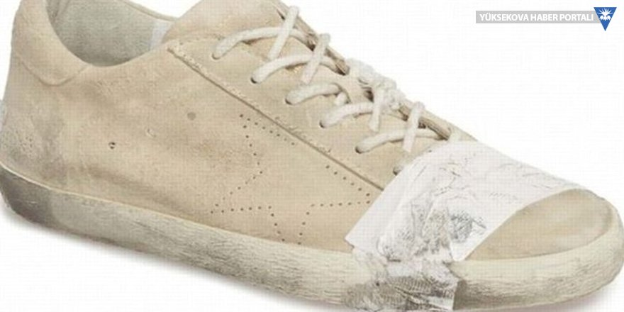 530 dolarlık eskitilmiş ayakkabıya tepki: Fakirlikle alay ediliyor!