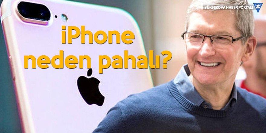 Apple'dan 'iPhone neden pahalı' açıklaması