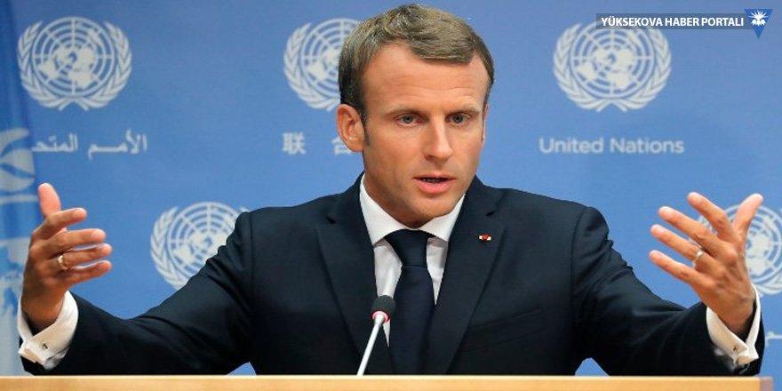 Macron SDG sözcüsüyle görüştü