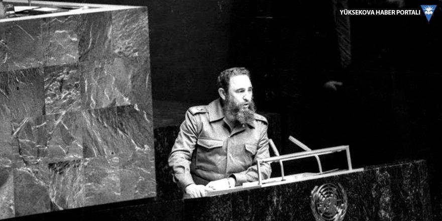 BM'de en uzun konuşma Fidel'in