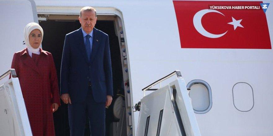 Erdoğan'ın Almanya ziyareti başladı