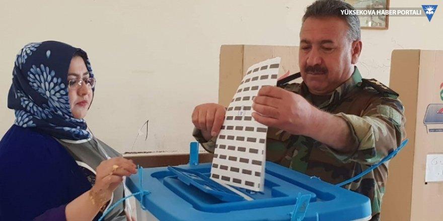 IKBY'de özel oy kullanma işlemi başladı