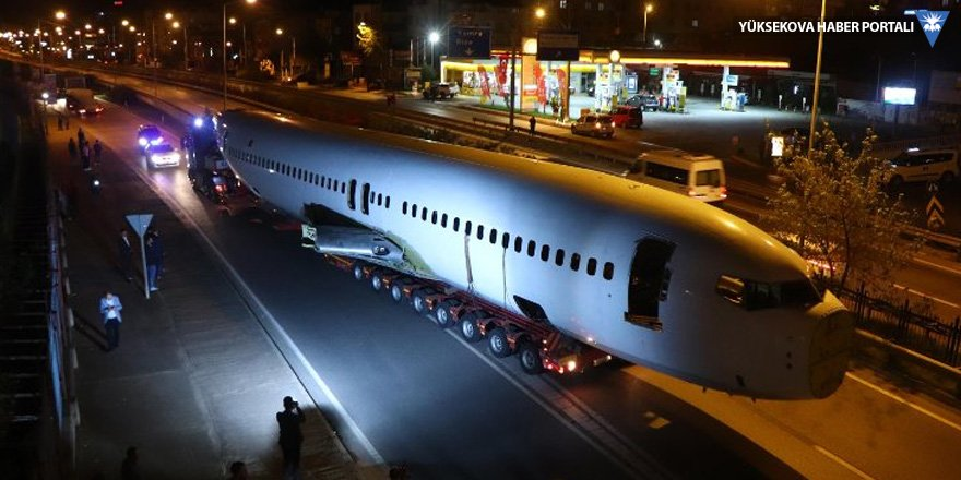 Millet kıraathanesi yapılacak uçak taşındı