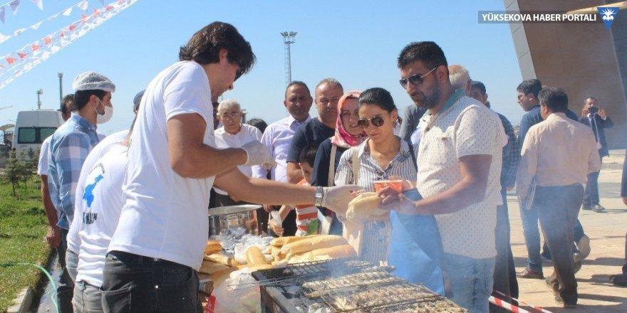Van'da balık festivali gerçekleştirildi