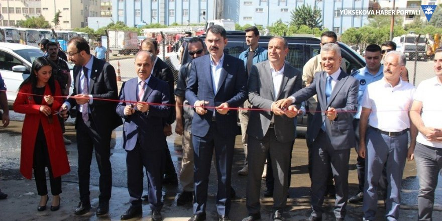 Çevre ve Şehircilik Bakanı Kurum Cizre'deydi