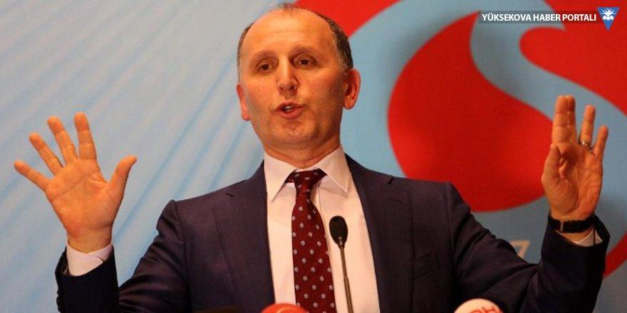 Trabzonspor'da eski yönetim borçları üstlendi