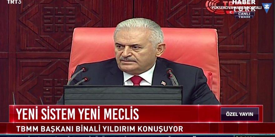 Yıldırım: Türkiye yeni bir sisteme geçmiştir