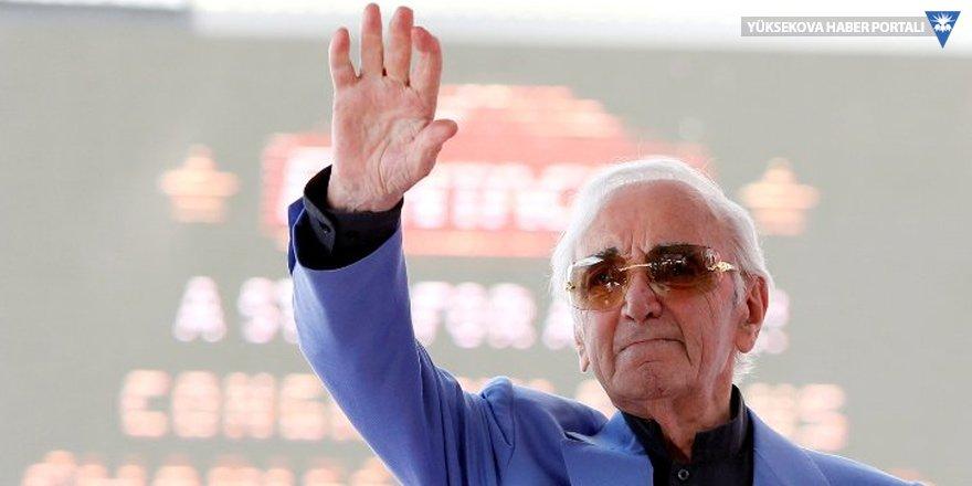 Charles Aznavour hayatını kaybetti