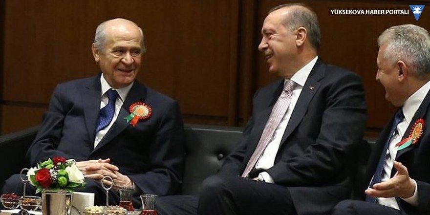 Meclis'te Erdoğan-Bahçeli görüşmesi