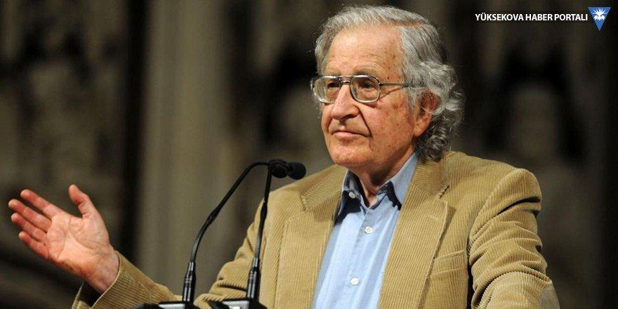 Noam Chomsky: ABD Kürtleri korumak için Suriye'de kalmalı