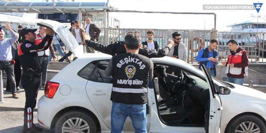İstanbul genelinde polis araması