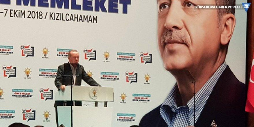 Erdoğan: Eksiklerimiz, sıkıntılarımız, çözmemiz gereken sorunlarımız yok mu?
