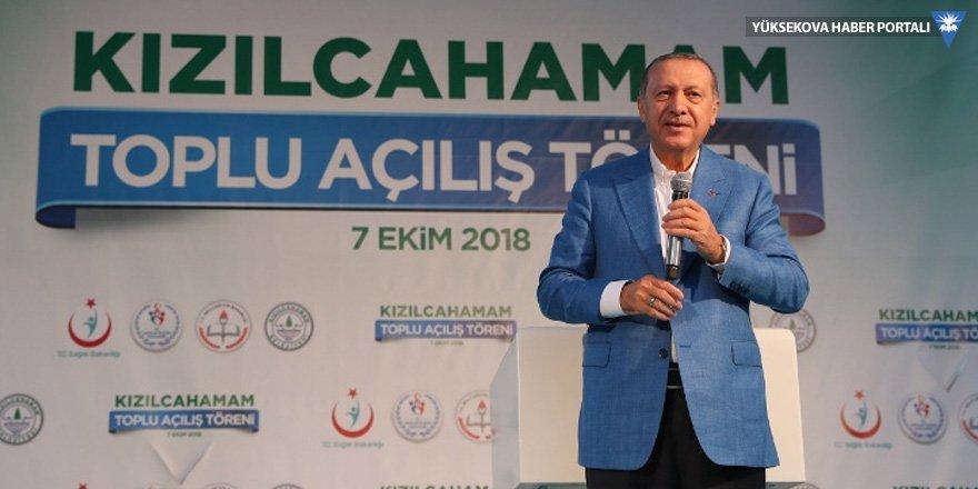 Erdoğan: Teröre bulaşanlar sandıktan çıkarsa kayyum tayin edeceğiz