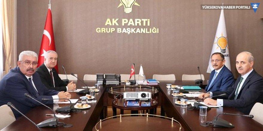 MHP ve AK Parti heyeti seçim konusu için bir araya geldi