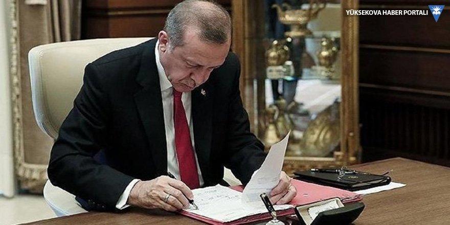 Erdoğan'dan 9 kurula 76 atama