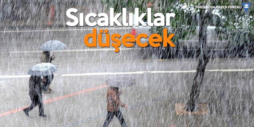 Çarşamba'dan itibaren tüm yurtta yağış var!