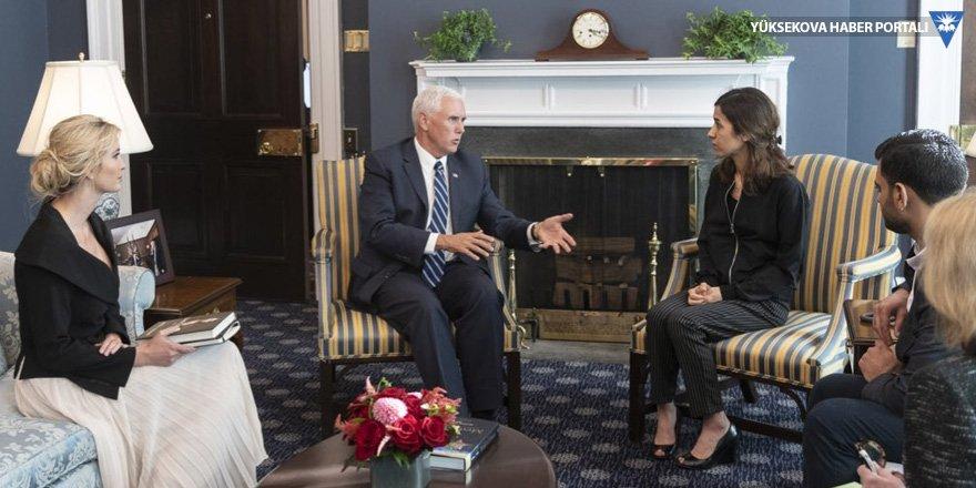 Nadia Murad, Mike Pence ile görüştü