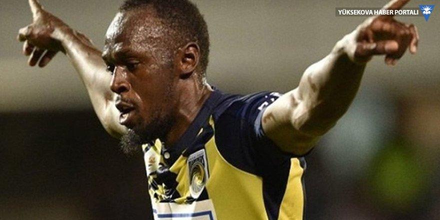 Usain Bolt ilk golünü attı!